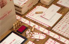 Papelería y etiquetas estilo casero de Sugar Deli