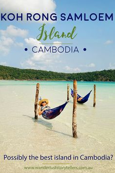 Koh Rong Samloem Island in Cambodia. Why we chose to go to this island and why we loved it so much! Read more on http://wanderluststorytellers.com.au