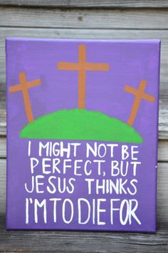 Canvas Painting  I'm To Die For by JordansCanvas on Etsy, $17.00