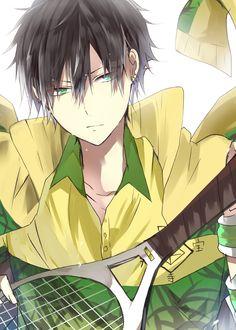 Zaizen Hikaru - Tennis no Ouji-sama - Mobile Wallpaper - Zerochan Anime Image Board Manga Cute, Cute Anime Pics, Cute Anime Boy, Manga Anime, Manga Boy, Anime Art, Prince Of Tennis Anime, Hot Anime Guys, Anime Boys