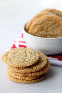Chewy Sugar Cookies for Santa