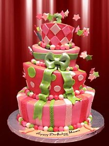I <3 this but this one is actually a birthday cake! LoL