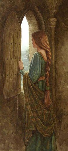 'Eithlinn', 2011 Painting by Patrick James Lynch,  Irish, Born : 1962