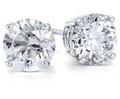 Diamond Stud Earrings for bridesmaids