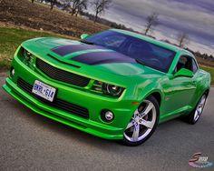 green camaro  dream car right here!
