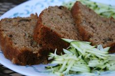 I've always made zucchini bread (using Barb's Zucchini recipe) but this one calls for applesauce . . . might give it a try for our bake sale . . .