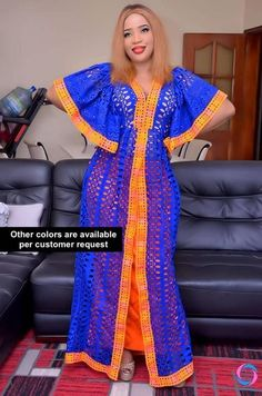 Premium Getzner magnum gold African dress/African clothing/African fashion/ African dress/Bazin boubou, Plus size dress/Plus size clothing Latest African Fashion Dresses, African Print Dresses, African Dresses For Women, African Wear, African Attire, African American Fashion, African Print Fashion, Africa Fashion, Plus Size Dresses