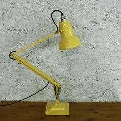 Herbert Terry Anglepoise Lamp in Yellow