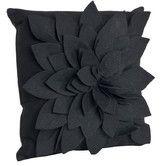 Found it at Wayfair - Flower Polyester Throw Pillow
