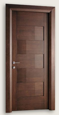Giò Pomodoro 1927/5/QQ Wenge Stained Oak Giò Pomodoro© Modern Interior Doors | Italian Luxury Interior Doors | New Design Porte Metropolis #ItalianInteriorDesign