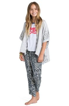 Billabong 'What You Will' Open Front Hoodie (Little Girls & Big Girls) available at #Nordstrom