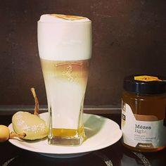 Latte a Mézes Light termékünkkel készítve. Páratlan élmény, főleg reggel. 🙂#kave #latte #capucino #dieta #dietas #csokkentettcukortartalom #fogyokura #cukorbetegekisfogyaszthatjak #finom Latte, Beer, Tableware, Glass, Instagram, Root Beer, Ale, Dinnerware, Drinkware
