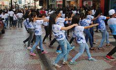 """BLOG JUIZ DE FORA SEGURA: Quinta edição da """"Dança da Escola no Calçadão"""" aco..."""