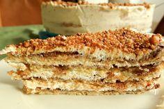 Münsterländische Himmelstorte nach Omas Rezept Tiramisu, Ethnic Recipes, Food, Ancient Recipes, Grandma's Recipes, Apple Sour Cream Cake, Small Cake, Food Portions, Homemade