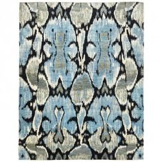 Contemporary Wool Rug - 8'x10'