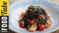 Langoustine & Squid-Ink Spaghetti | Jamie & Gennaro