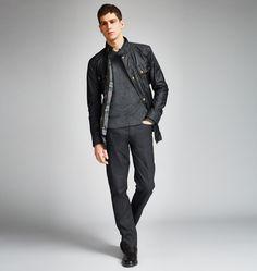 Belstaff | Mens Waxed Cotton Streetmaster Jacket | Mens Designer Jackets & Coats