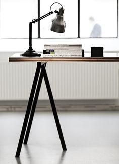 Desk of rosewood veneered pine   Genbyg Design