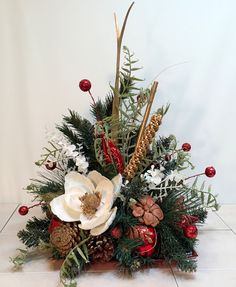 1000 Images About Christmas Floral Arrangements On