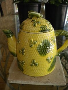 Bee Hive Teapot. $12.00, via Etsy.