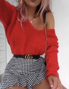 Never Failed Chic Long Sleeve Ang Mini Skirt Outfits Ideas , nie gescheitert chic langarm- und minirock outfits ideen Never Failed Chic Long Sleeve Ang Mini Skirt Outfits Ideas , Trendy Outfits, Fall Outfits, Summer Outfits, Fashion Outfits, Fashion Trends, Womens Fashion, Work Outfits, Cute Outfits With Skirts, Mini Skirt Outfits