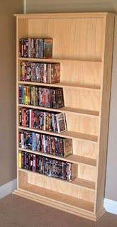 case of shelves plans #diy