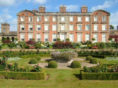Weston Park, Shropshire: The House. Considered by some experts to be the park on which that at Blandings Castle is based.