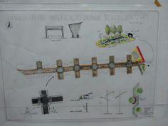 Intervenção urbana em Montes Claros , Trabalho feito por Amanda Gomes Pimenta ,Ana Claudia Campos e Carmen Oliveira ,os Desenhos foram feitos por Ana Claudia Campos .
