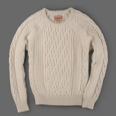 Fancy - MILL MERCANTILE - Levi's Made & Crafted - Poh Poh Crew Sweater in Ecru