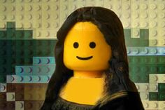10 Famous Paintings Recreated in LEGO (Famous Paintings, Lego Paintings) - ODDEE