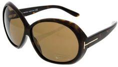 Tom Ford Sunglasses Womens FT 0120 52E Dark Tortoise Tom Ford. $231.43