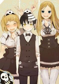 Kid, Patty and Liz