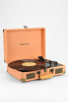 Crosley X UO Cruiser Briefcase Portable Record Player - Urban Outfitters.. I like this one a lot