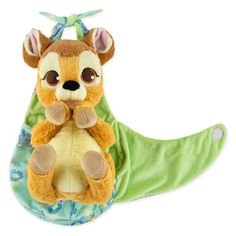 Bambi Plush with Blanket Pouch - Disney's Babies - Small