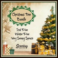 Christmas Tree Bundle - 3 pack for $14, order today at www.smellarific.com. Flyer by Angela O'Hare.