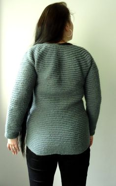 Viking Wool Unisex Sweater Nalbinding Knitted par CroneYhrmCrafts