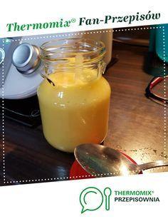 Syrop na kaszel jest to przepis stworzony przez użytkownika valtorre. Ten przepis na Thermomix® znajdziesz w kategorii Dodatki na www.przepisownia.pl, społeczności Thermomix®. Mason Jars, Food And Drink, Pudding, Drinks, Tableware, Kitchen, Gastronomia, Diet, Thermomix