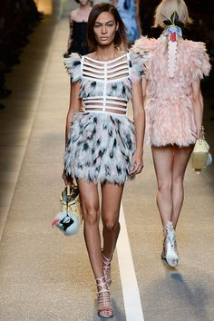 Fendi Spring 2015 Ready-to-Wear - Style.com