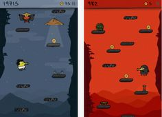 Doodle Jump - The classic platform bouncing game is back with a major update that introduces a ninja theme.