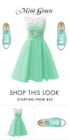 """My Formal Dress"" by creativeness-duhhhh on Polyvore featuring Converse"