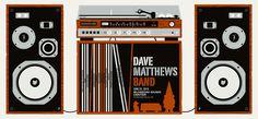 2010 Dave Matthews Band - Cuyahoga Silkscreen Concert Poster by Methane Dave Matthews Band Posters, Blossom Music Center, Concert Posters, Event Posters, Music Posters, Cuyahoga Falls, Music Bands, Creatures, Architecture