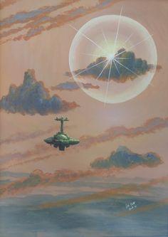 Ian S Bott - Artwork - Ship & Sun