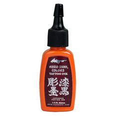 Rising Sun Orange Authentic Kuro Sumi Japanese Tattoo Ink Colors