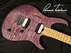 Joy - Purple glossy finish - Bruno Traverso Guitars