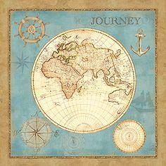 RB6213CC <br> Old World Journey I <br> 12x12