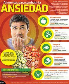 alimentos para combatir la ansiedad