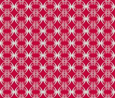 AotearoaCollectionRed fabric by madex on Spoonflower - custom fabric