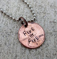 Five by Five - Faith Penny from Buffy (choice of keychain, necklace or cell charm) -Made to Order- on Etsy, $5.00