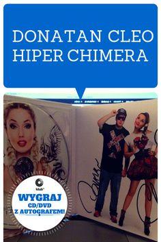 Wygraj płytę z autografami artystów: Donatan Cleo  HIPER CHIMERA http://klub.fm/konkursy/