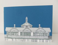 Handmade notebook  Dunoon Pier by peonyandthistle, £5
